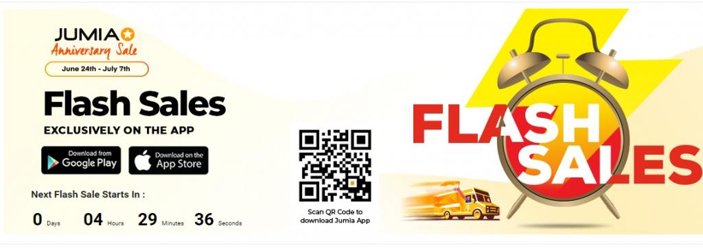 Jumia Flash Sales