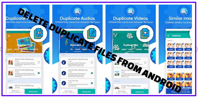 Delete Duplicated Files From Your Android Device