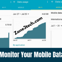 How to Monitor Your Mobile Data Usage