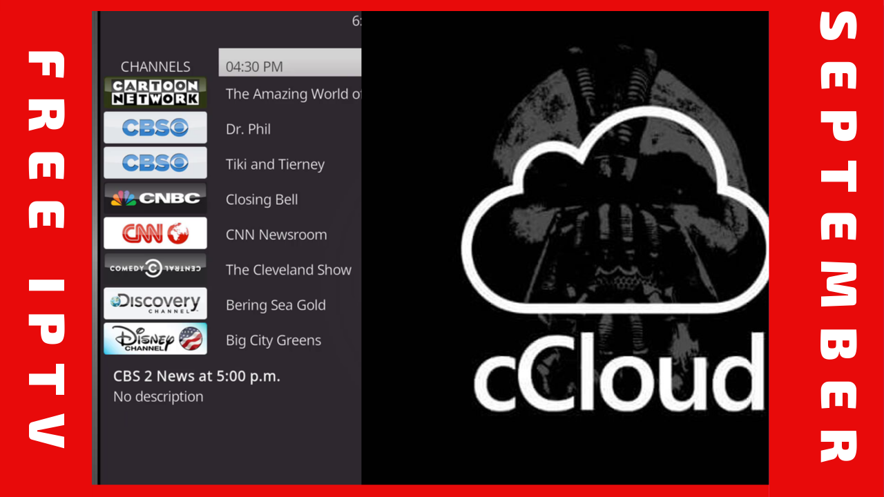 How To Install cCloud Kodi Addon: Access Over 1000 Live Tv Channels