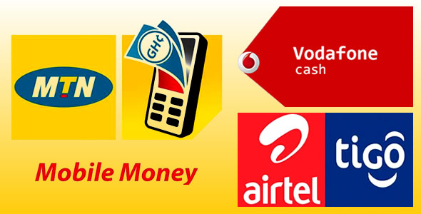 How To Buy Airtime With MTN Mobile Money or AirtelTigo Cash Or Vodafone Cash