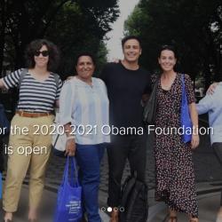 Obama Foundation Scholars Program