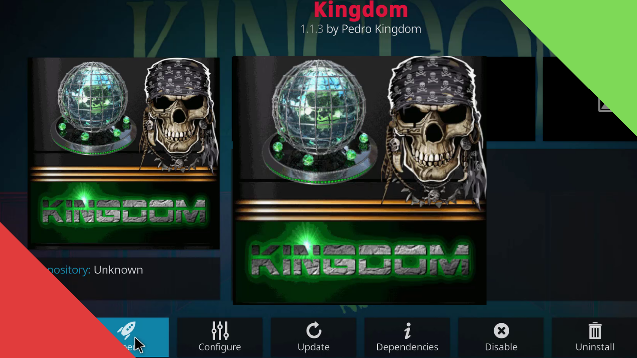 Kingdom Kodi Add-On Installation